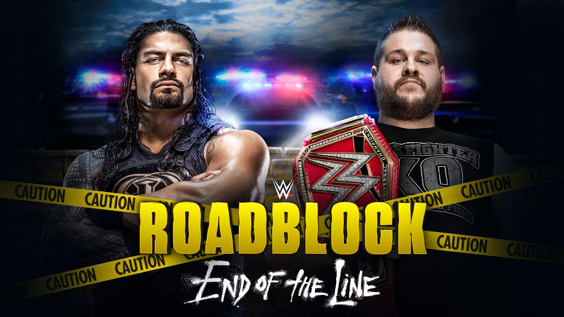 Roadblock: End of the Line 2016 poster