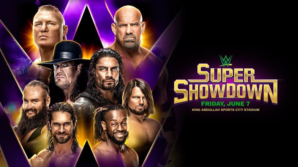 Super Showdown 2019 poster
