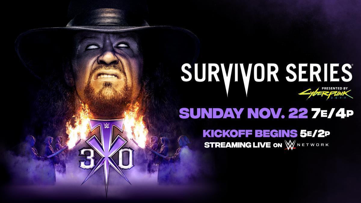 Survivor Series 2020 poster