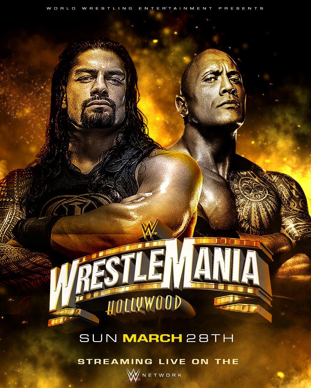 WrestleMania 37 (2021) poster