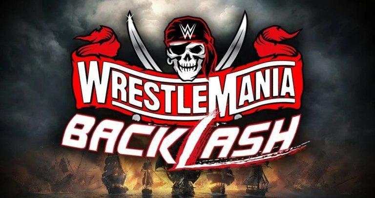 WrestleMania Backlash (2021) poster