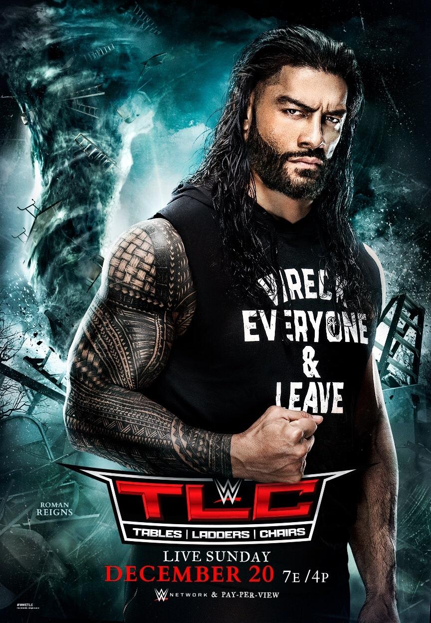 WWE TLC 2020 poster